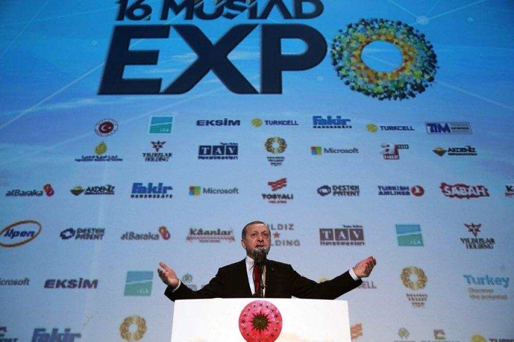 ARSLAN, 16. MÜSİAD EXPO ULUSLARARASI İŞ FORUMU KONGRESİ AÇILIŞINDA