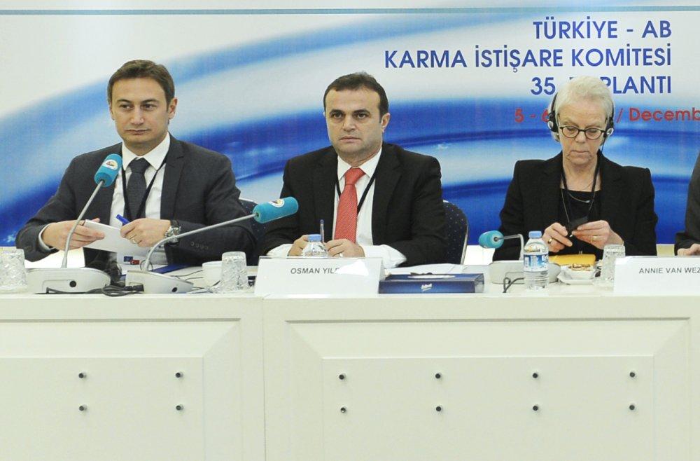 GENEL SEKRETERİMİZ YILDIZ, AB-KİK HEYETİ 35. TOPLANTISINDA SUNUM YAPTI