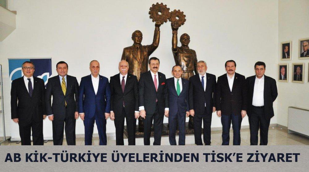 AB KİK ÜYELERİNDEN TİSK BAŞKANI ÖNEN'E ZİYARET