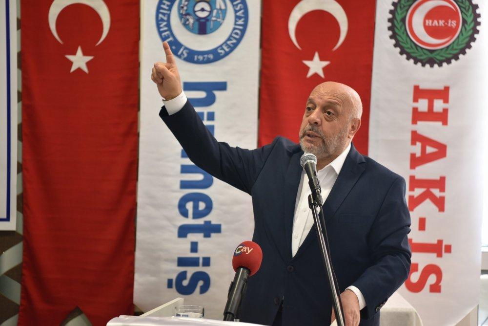 ARSLAN HİZMET-İŞ SENDİKAMIZIN ŞUBE GENEL KURULUNA KATILDI