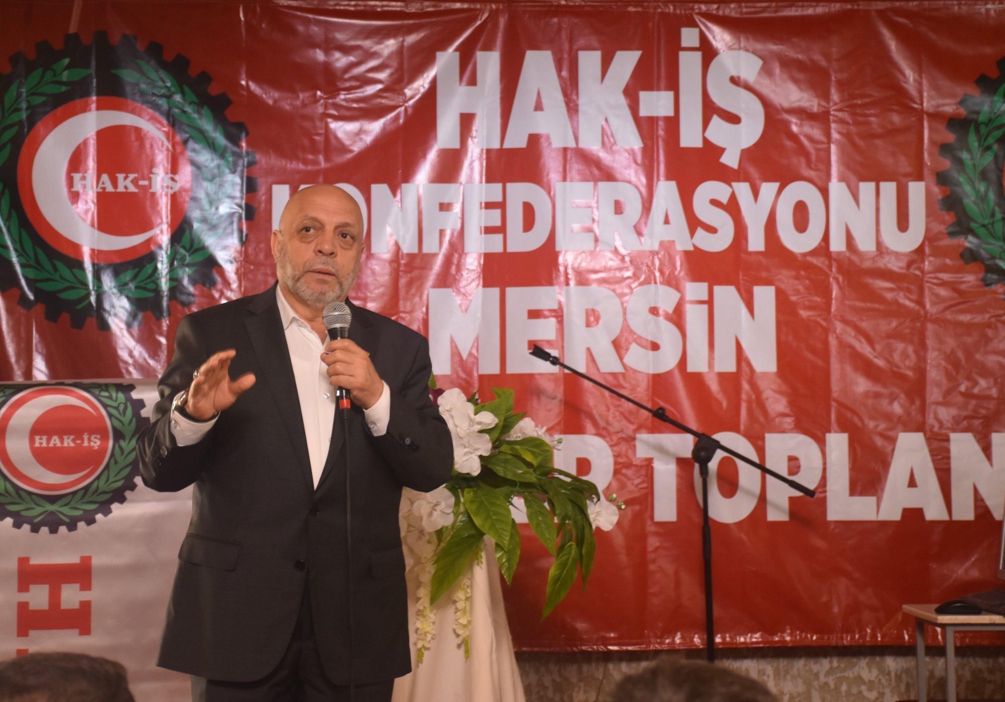 ARSLAN, MERSİN'DE TEMSİLCİLER TOPLANTISINA KATILDI