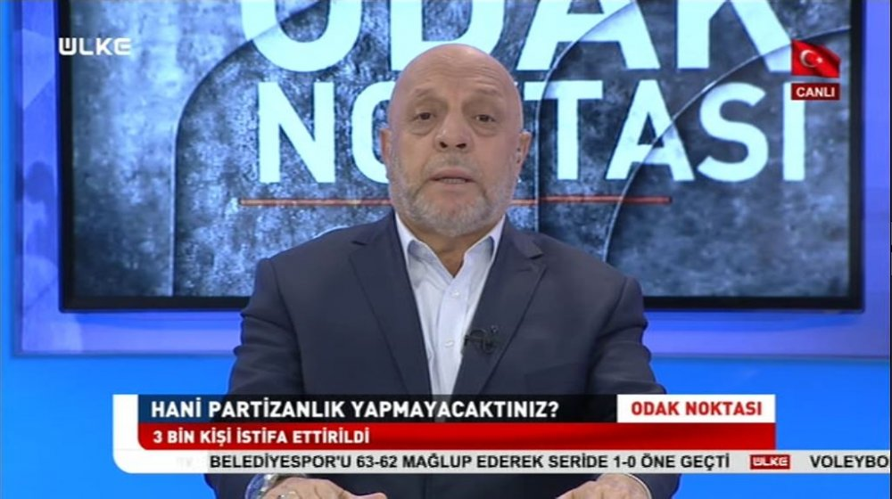ARSLAN, ÜLKE TV CANLI YAYININDA KONUŞTU