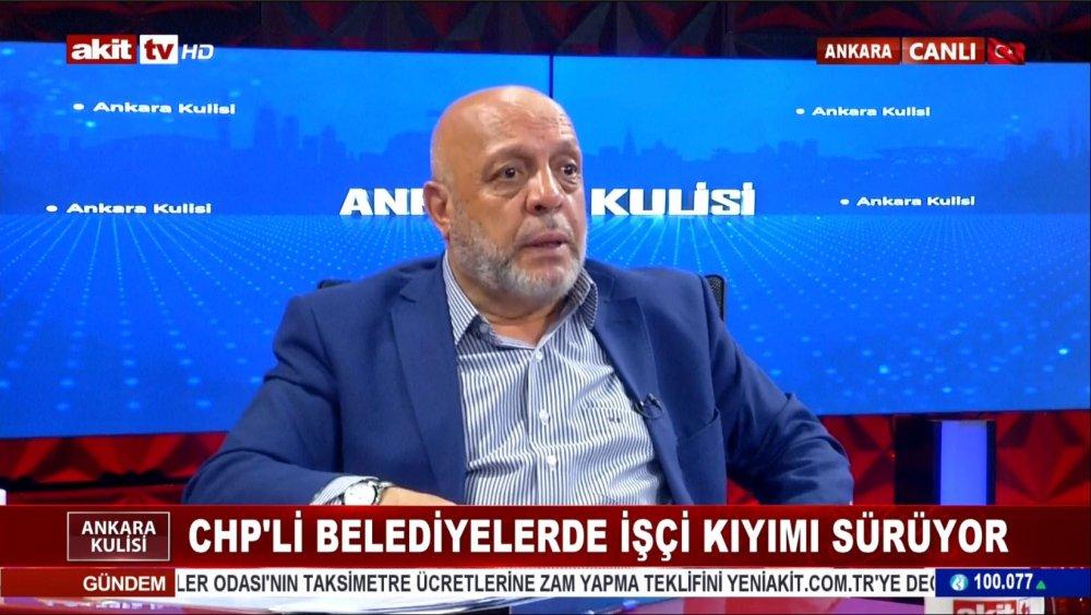 ARSLAN, AKİT TV ''ANKARA KULİSİ'' PROGRAMINDA KONUŞTU