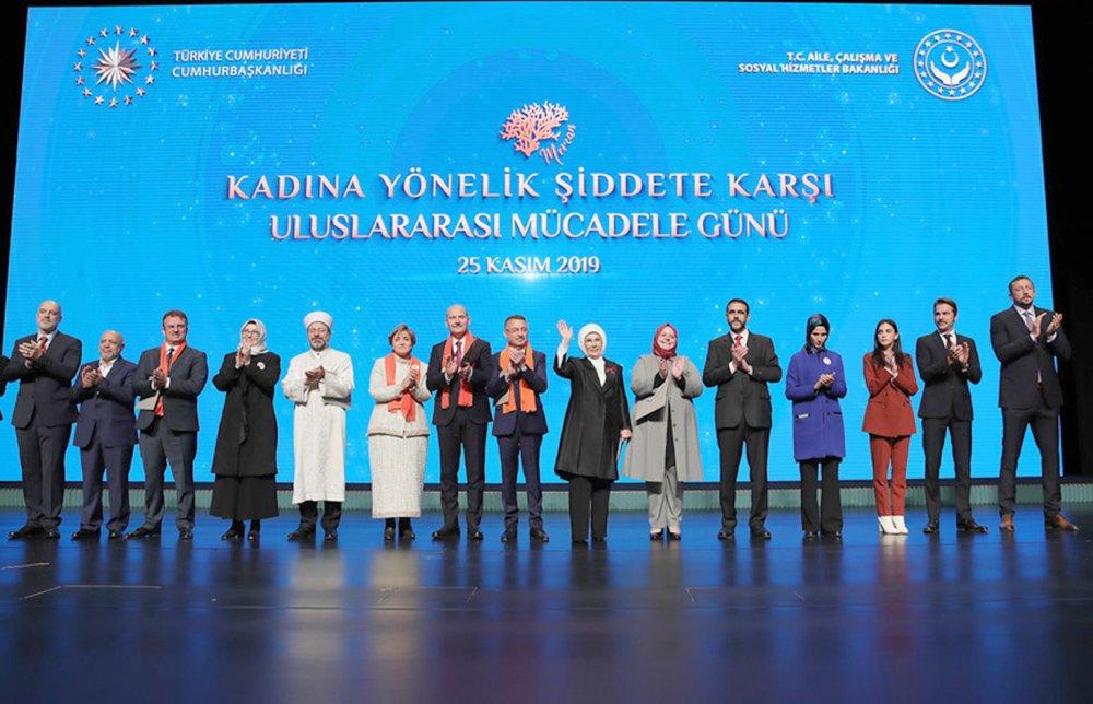 ARSLAN, CUMHURBAŞKANLIĞI'NDA KADINA ŞİDDET TOPLANTISINA KATILDI
