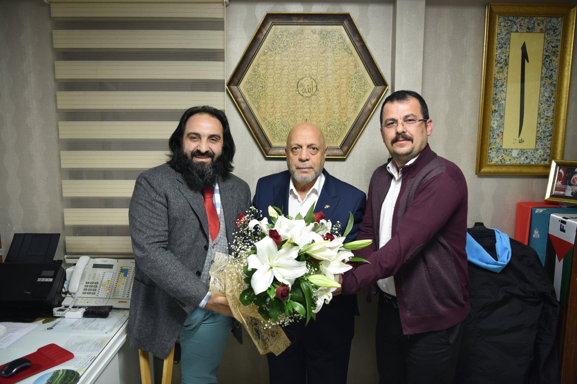 ARSLAN, ENGELLİ PERSONELLERİMİZİN 3 ARALIK ULUSLARARASI ENGELLİLER GÜNÜ'NÜ UNUTMADI