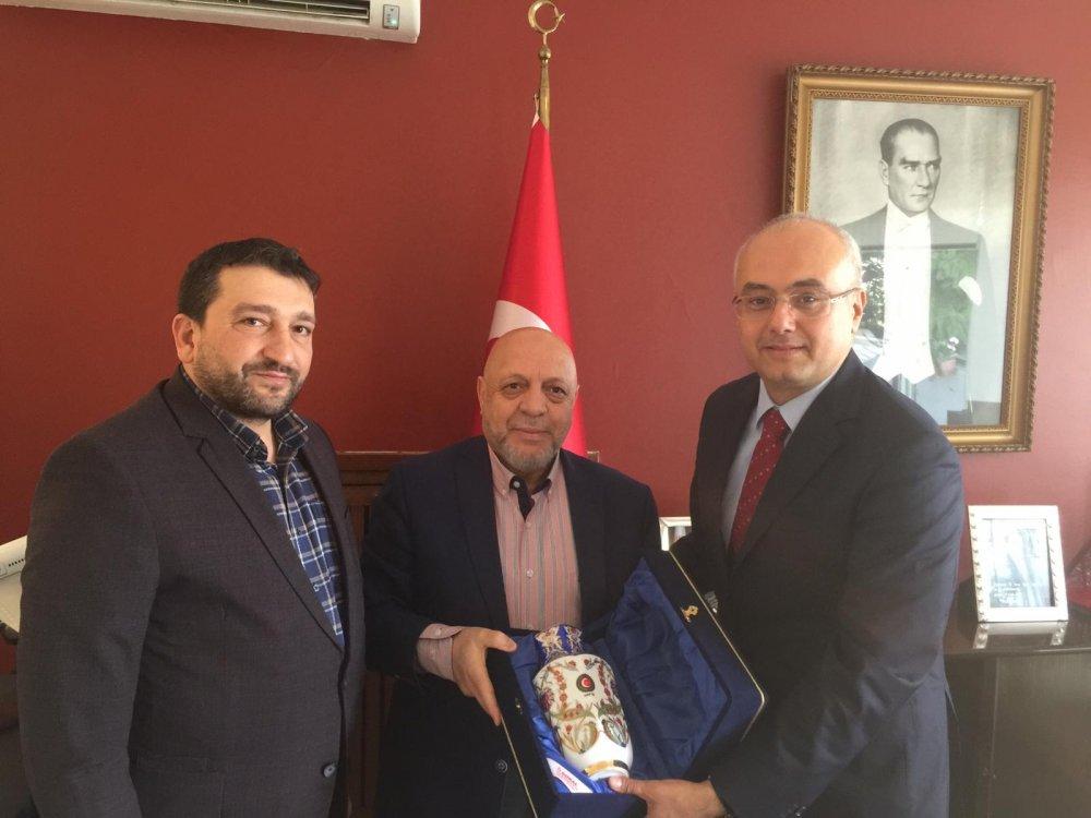 ARSLAN'DAN RABAT BÜYÜKELÇİSİ DOĞAN'A ZİYARET