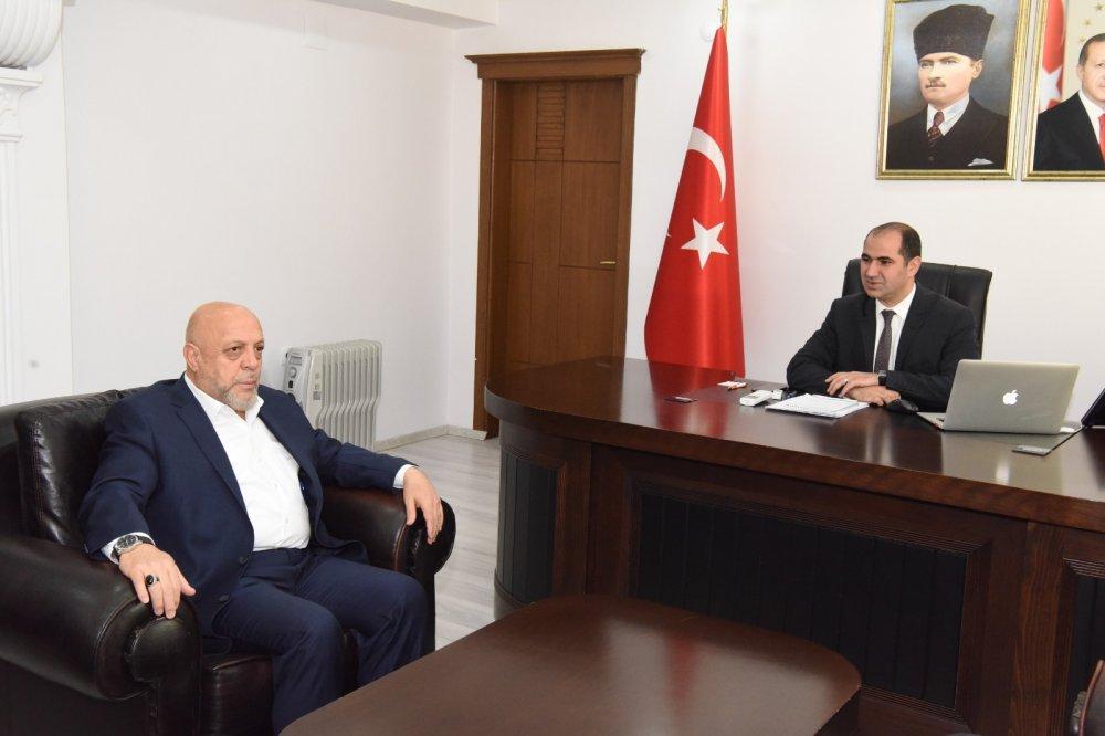 ARSLAN'DAN, SİLOPİ KAYMAKAMI IŞIKTAŞ'A ZİYARET