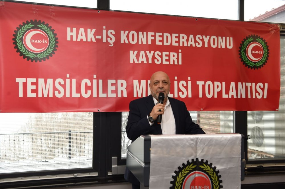 ARSLAN, KAYSERİ'DE TEMSİLCİLER MECLİSİ TOPLANTISINA KATILDI