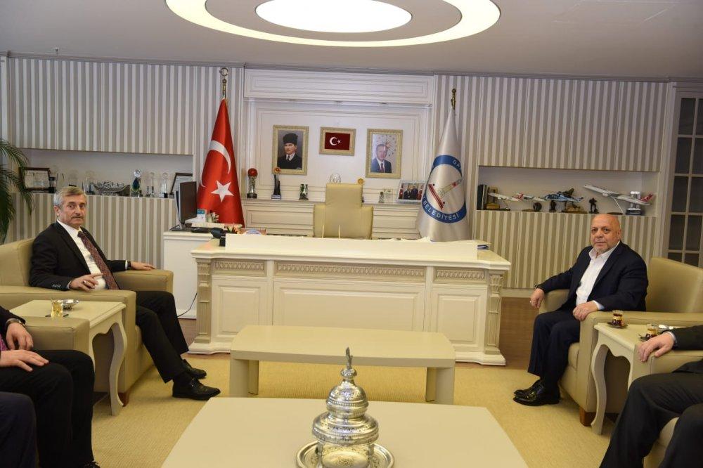 ARSLAN, GAZİANTEP ŞAHİNBEY BELEDİYESİ'Nİ ZİYARET ETTİ