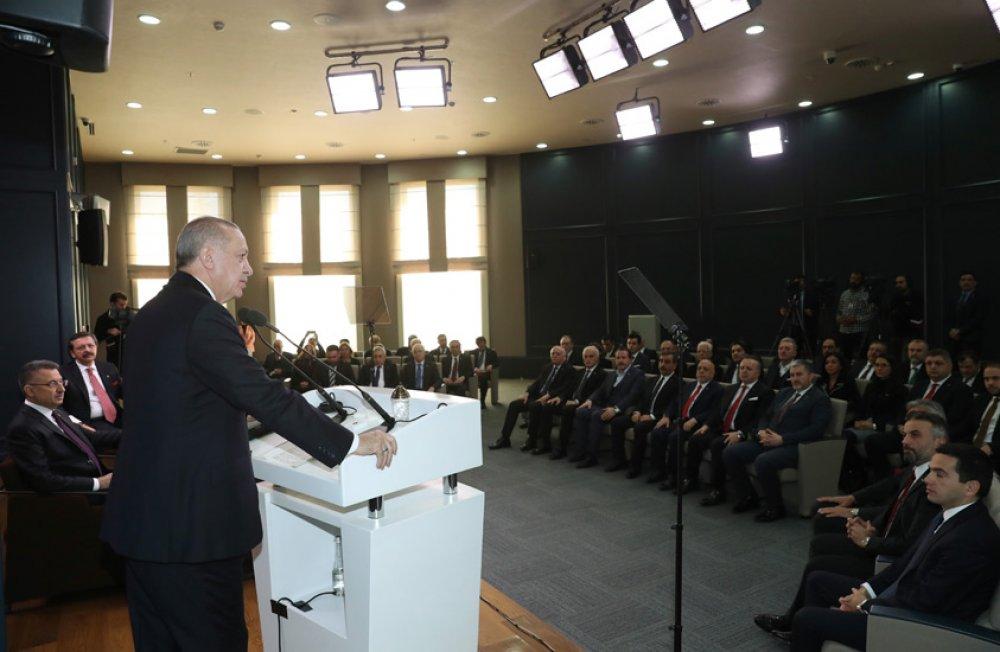 STK'LARDAN CUMHURBAŞKANI ERDOĞAN'A DESTEK ZİYARETİ