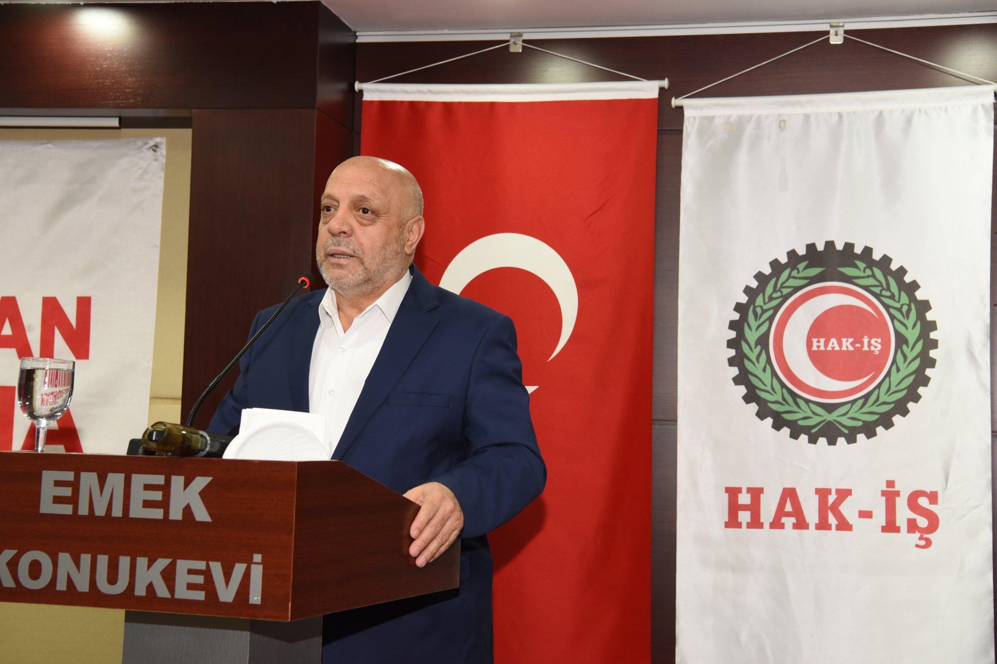 ARSLAN, HİZMET-İŞ SENDİKASI KADIN EMEĞİ BULUŞMASI'NA KATILDI