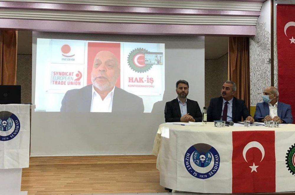 ARSLAN, ŞUBE GENEL KURULUNA VİDEO KONFERANS İLE KATILDI