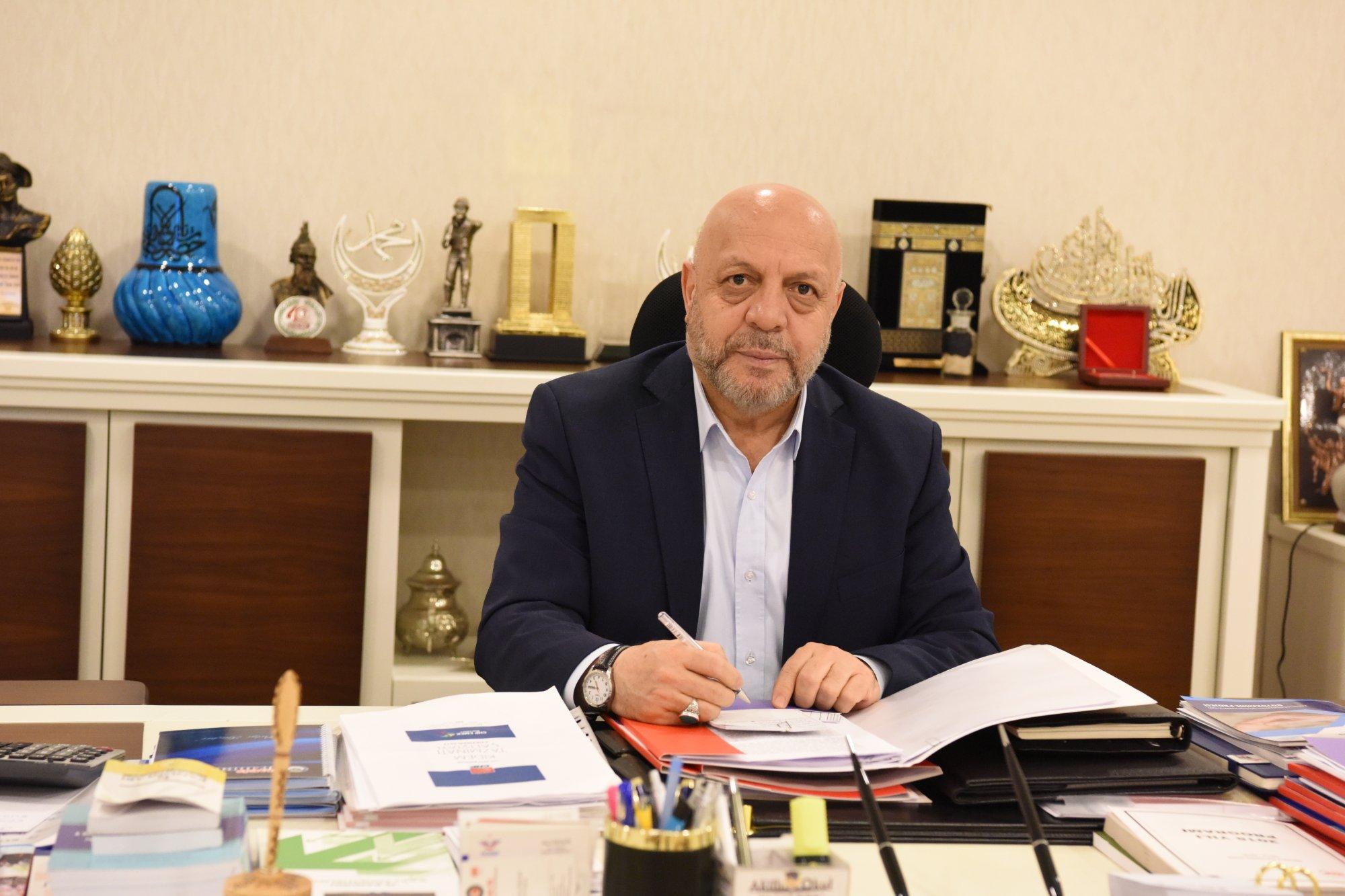 ARSLAN'DAN FİLİSTİN BÜYÜKELÇİSİ MUSTAFA'YA TEBRİK MEKTUBU