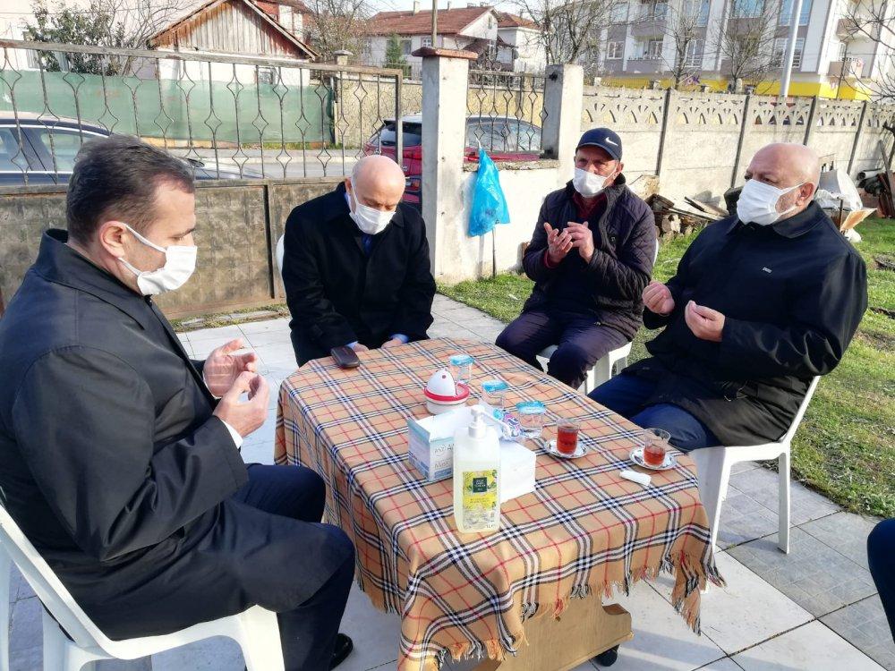 ARSLAN'DAN YILDIZ'A TAZİYE ZİYARETİ