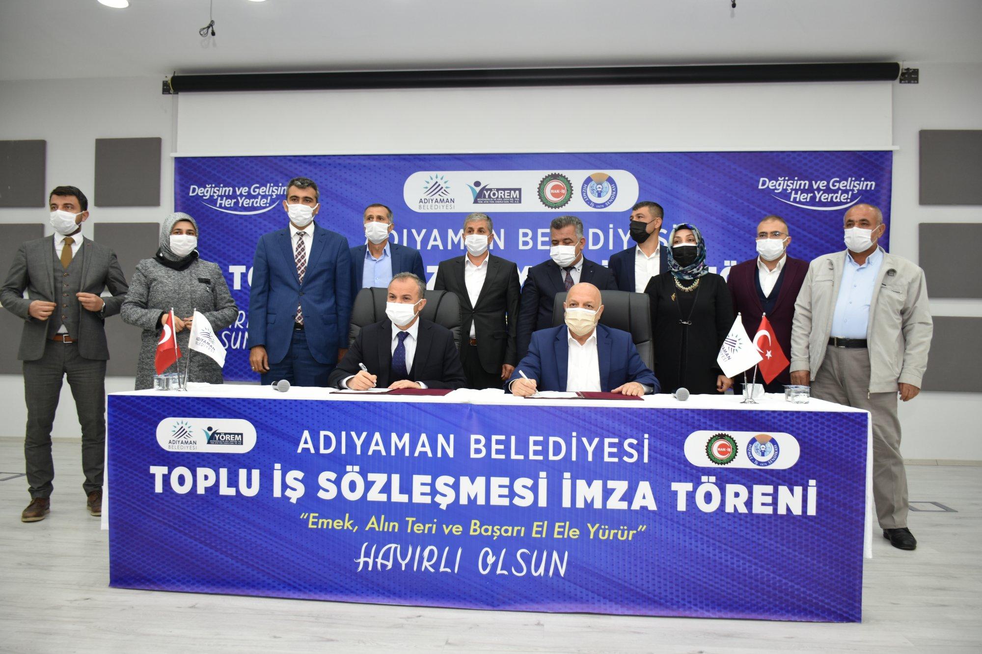 ARSLAN, ADIYAMAN'DA TİS TÖRENİNE KATILDI