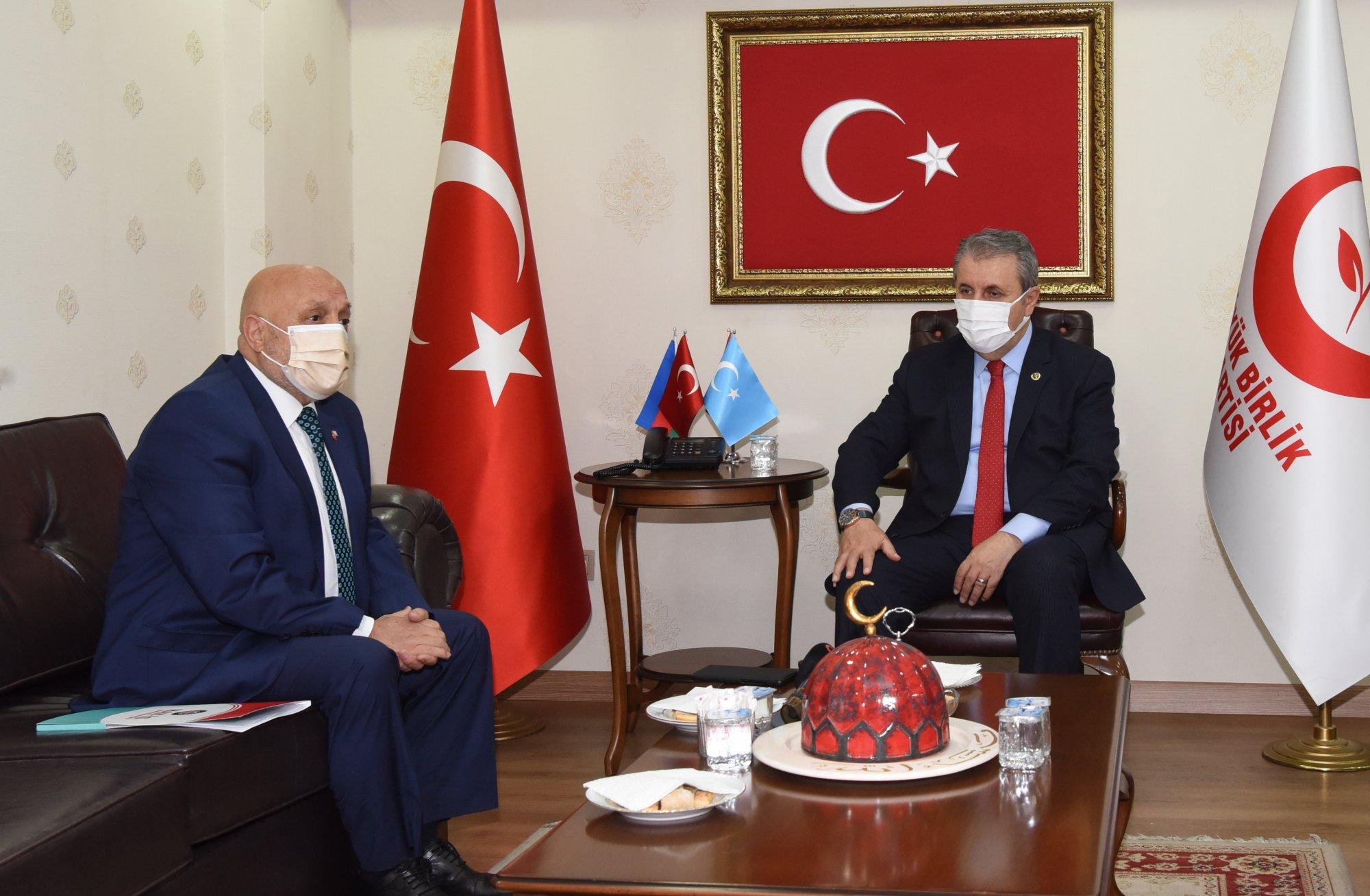 ARSLAN'DAN BBP BAŞKANI DESTİCİ'YE ZİYARET