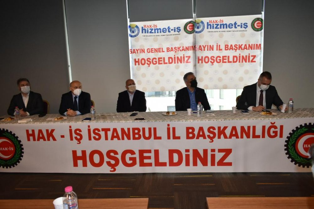 ARSLAN, AK PARTİ İSTANBUL İL BAŞKANI KABAKTEPE'Yİ AĞIRLADI