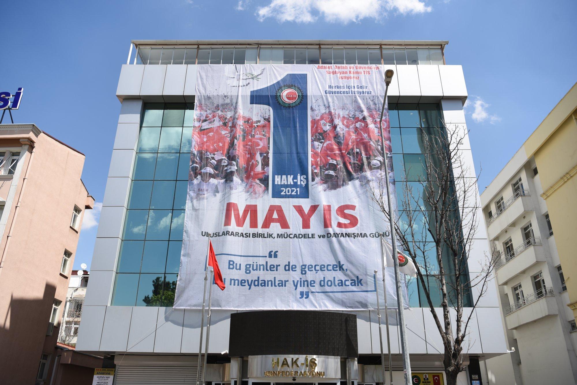 HAK-İŞ 1 MAYIS HAFTASI KUTLAMALARI BAŞLADI
