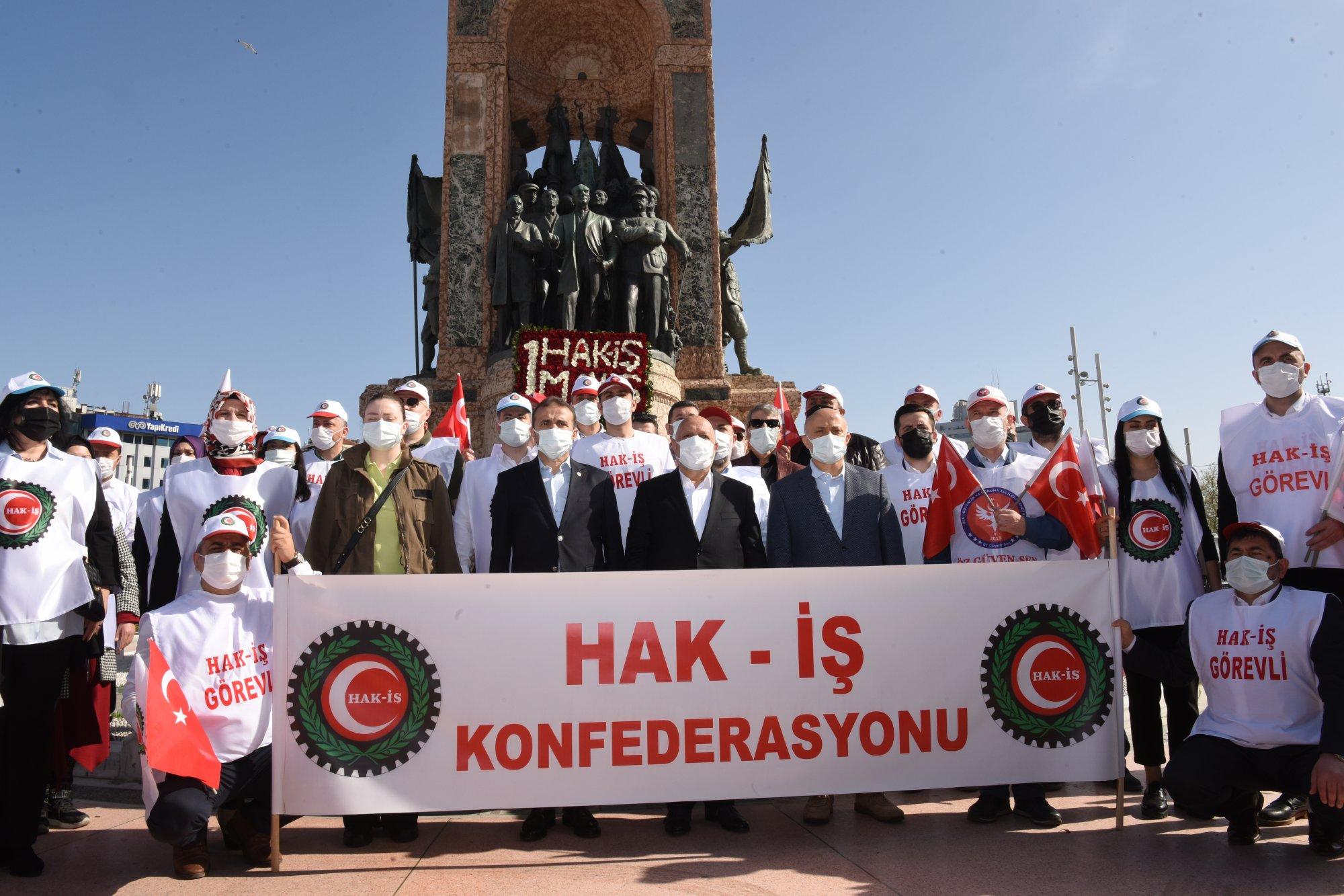 1 MAYIS'I TAKSİM'DE KUTLADIK